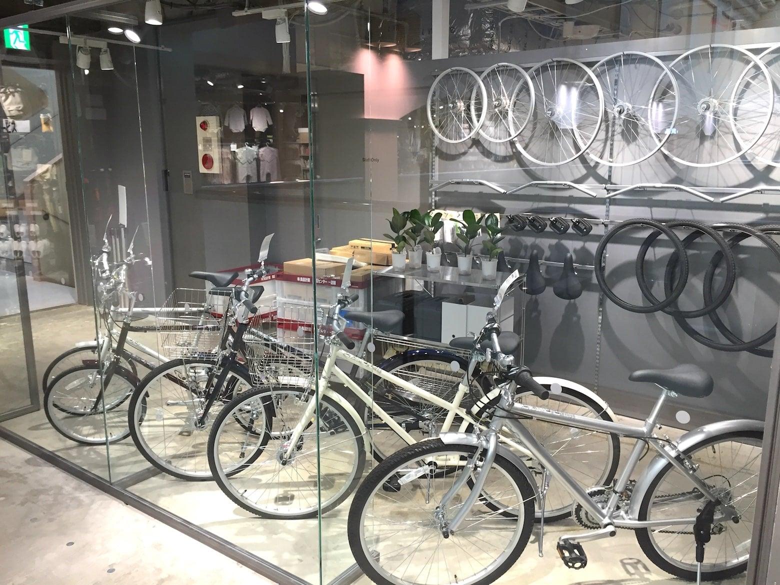 無印良品 近鉄四日市 自転車 アフターサービス